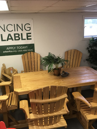<center>November Special: Start your holiday shopping early!</center><br/>10% OFF All In-Stock Wood Furniture for the month of November