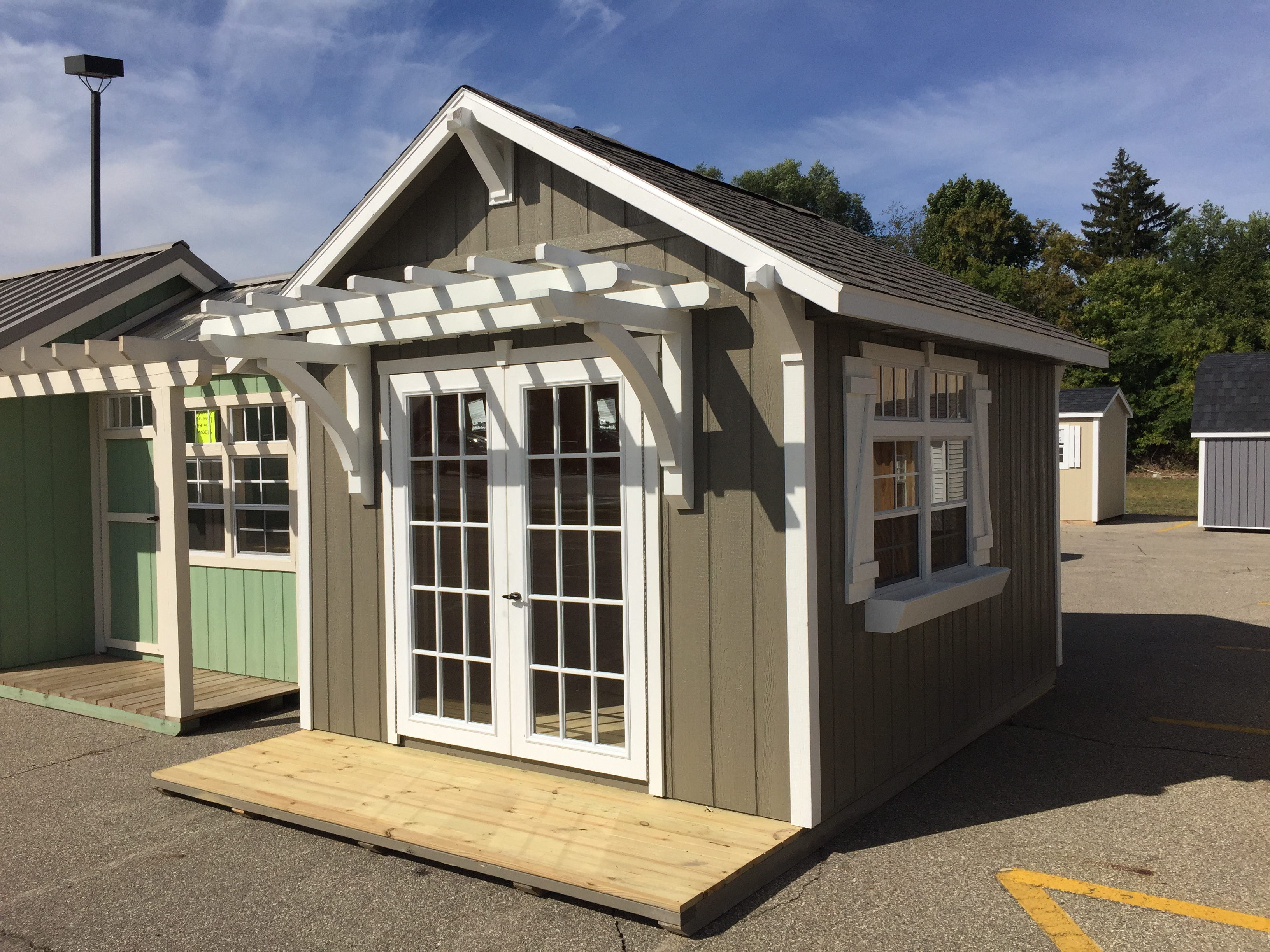 our michigan craftsmanship is a cut above the rest - Garden Sheds Michigan